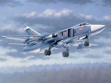 Su-24M Fencer-D · TRU 02835 ·  Trumpeter · 1:48