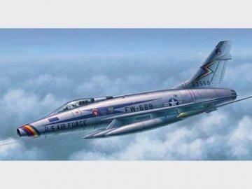 F-100D Super Sabre · TRU 02839 ·  Trumpeter · 1:48