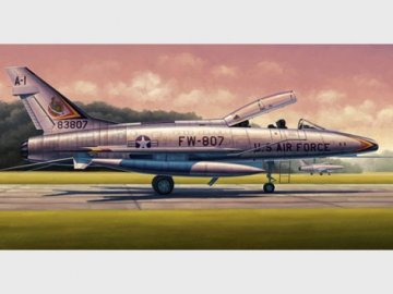F-100F Super Sabre · TRU 02840 ·  Trumpeter · 1:48