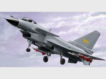 PLAAF J-10A Vigorous Dragon · TRU 02841 ·  Trumpeter · 1:48