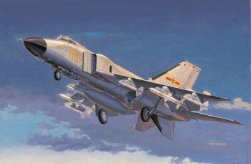 Chinese J-8IIF fighter · TRU 02847 ·  Trumpeter · 1:48