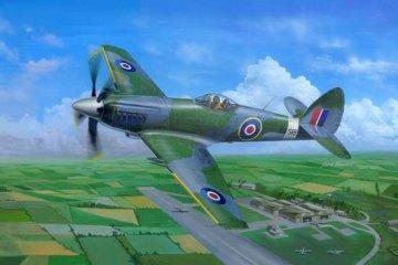 Supermarine Spiteful F.MK.14 Fighter · TRU 02850 ·  Trumpeter · 1:48