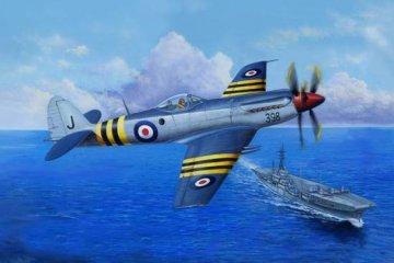 Supermarine Seafang F.MK.32 Fighter · TRU 02851 ·  Trumpeter · 1:48