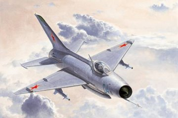 MiG-21 F-13/J-7 Fighter · TRU 02858 ·  Trumpeter · 1:48