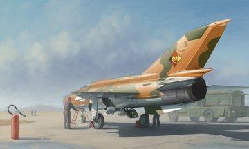 MiG-21MF Fighter · TRU 02863 ·  Trumpeter · 1:48