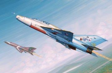 MiG-21UM Fighter · TRU 02865 ·  Trumpeter · 1:48