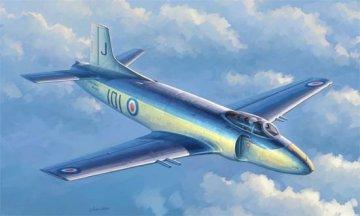 Supermarine Attacker F.1 Fighter · TRU 02866 ·  Trumpeter · 1:48