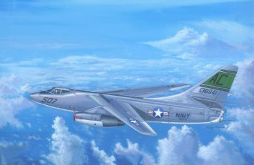 A-3D-2 Skywarrior Strategic Bomber · TRU 02868 ·  Trumpeter · 1:48