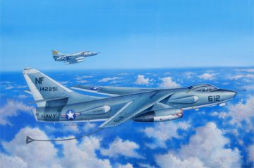 EKA-3B Skywarrior Strategic Bomber · TRU 02872 ·  Trumpeter · 1:48