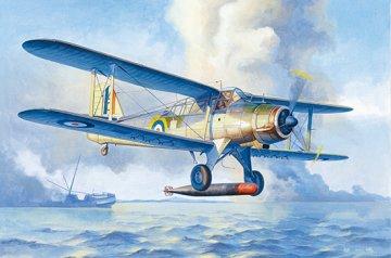 Fairey Albacore Torpedo Bomber · TRU 02880 ·  Trumpeter · 1:48