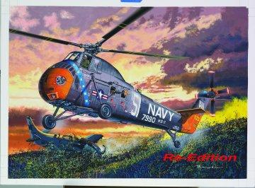 H-34 US Navy Rescue [Re-Edition] · TRU 02882 ·  Trumpeter · 1:48