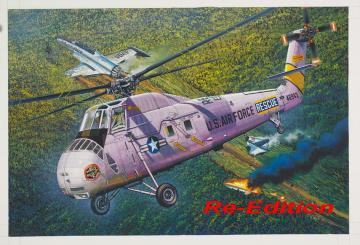HH-34J USAF Combat Rescue - Re-Edition · TRU 02884 ·  Trumpeter · 1:48