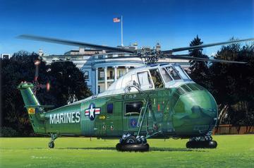 VH-34D Marine One - Re-Edition · TRU 02885 ·  Trumpeter · 1:48