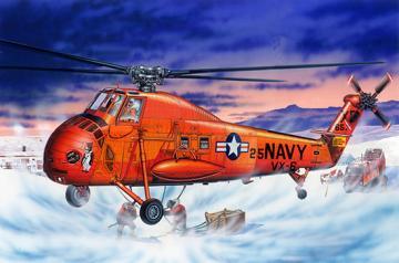 UH-34D Seahorse - Re-Edition · TRU 02886 ·  Trumpeter · 1:48