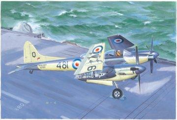 De Havilland Sea Hornet Nf.21 · TRU 02895 ·  Trumpeter · 1:48