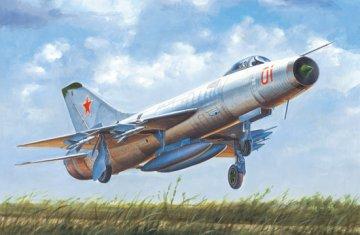 Soviet Su-9 Fishpot · TRU 02896 ·  Trumpeter · 1:48