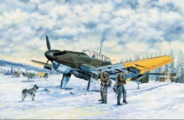 Junkers Ju 87 B-2/U-2 Stuka · TRU 03215 ·  Trumpeter · 1:32