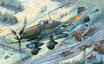Junkers Ju 87 G-2 Stuka · TRU 03218 ·  Trumpeter · 1:32
