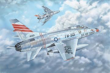 F-100C Super Sabre · TRU 03221 ·  Trumpeter · 1:32