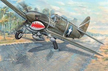 P-40F War Hawk · TRU 03227 ·  Trumpeter · 1:32