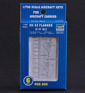 Sukhoi Su-33 Flanker · TRU 03410 ·  Trumpeter · 1:700