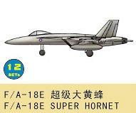 F/A-18E Super Hornet · TRU 03428 ·  Trumpeter · 1:700