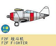 F2F Fighter (18 St.) · TRU 03439 ·  Trumpeter · 1:700