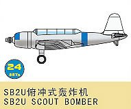 SB2U Scout Bomber (24 St.) · TRU 03442 ·  Trumpeter · 1:700