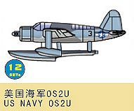 OS2U US Navy · TRU 03447 ·  Trumpeter · 1:700