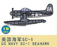 SC-1 Seahawk US Navy · TRU 03448 ·  Trumpeter · 1:700