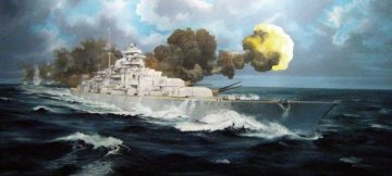 Bismarck · TRU 03702 ·  Trumpeter · 1:200