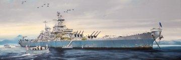 USS Missouri BB-63 · TRU 03705 ·  Trumpeter · 1:200