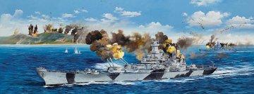 USS Iowa BB-61 · TRU 03706 ·  Trumpeter · 1:200