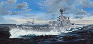 HMS Hood · TRU 03710 ·  Trumpeter · 1:200