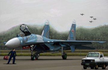 Russian SU-27 Flanker B · TRU 03909 ·  Trumpeter · 1:144
