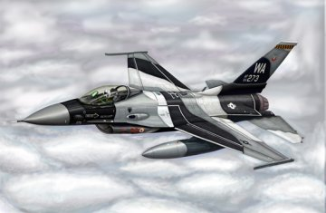 F-16A/C Fighting Falcon Block 15/30/32 · TRU 03911 ·  Trumpeter · 1:144