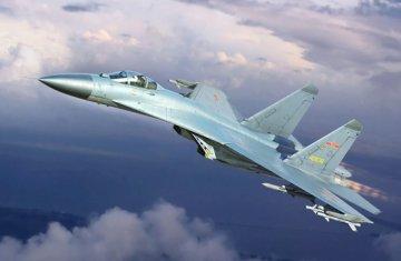 PLAAF J-11B fighter · TRU 03915 ·  Trumpeter · 1:144