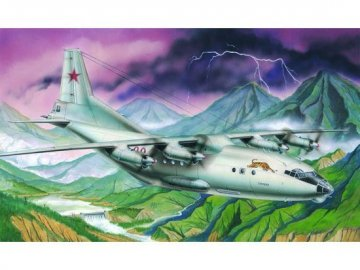 Antonov An-12 BK Cub · TRU 04001 ·  Trumpeter · 1:100
