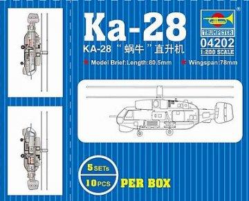KA-28 · TRU 04202 ·  Trumpeter · 1:200