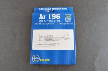Arado AR 196 · TRU 04203 ·  Trumpeter · 1:200