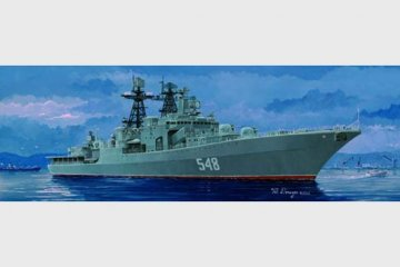 Russischer Zerstörer Admiral Panteleyev · TRU 04516 ·  Trumpeter · 1:350