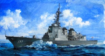 JMSDF DDG-177 Atago destroyer · TRU 04536 ·  Trumpeter · 1:350