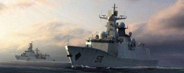 PLA Navy Type 054A FFG-529 Zhoushan · TRU 04543 ·  Trumpeter · 1:350