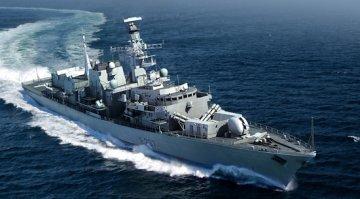 HMS TYPE 23 Frigate-Westminster(F237) · TRU 04546 ·  Trumpeter · 1:350