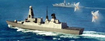 HMS Type 45 Destroyer · TRU 04550 ·  Trumpeter · 1:350