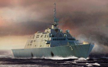 USS Forth Worth (LCS-3) · TRU 04553 ·  Trumpeter · 1:350