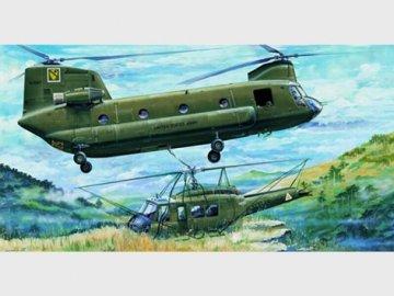 CH-47A Chinook · TRU 05104 ·  Trumpeter · 1:35