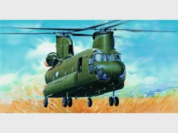 CH-47D Chinook · TRU 05105 ·  Trumpeter · 1:35