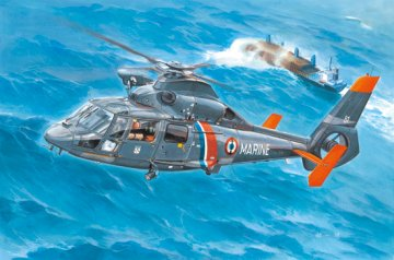 AS365N2 Dolphin 2 Helicopter · TRU 05106 ·  Trumpeter · 1:35