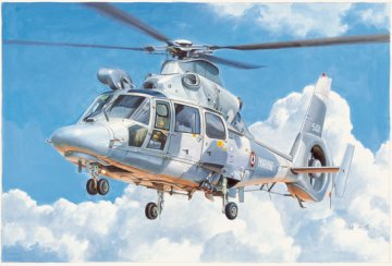 AS565 Panther Helicopter · TRU 05108 ·  Trumpeter · 1:35